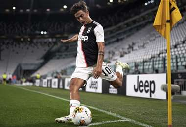 Paulo Dybala. AFP