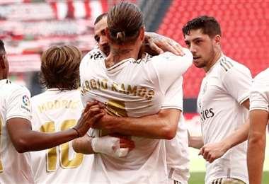 Sergio Ramos. Twitter Real Madrid