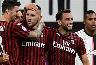 AC Milan. AFP