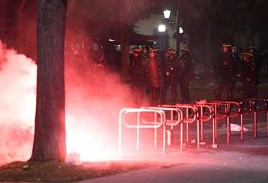 Vandalismo en París. AFP