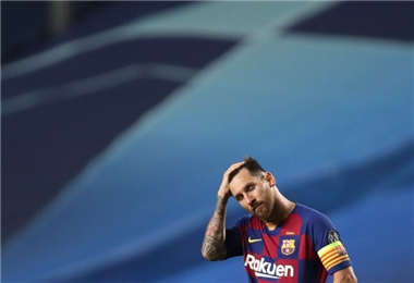 Messi. AFP