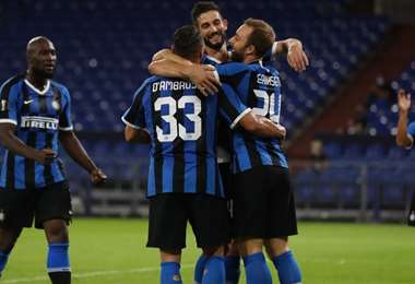 Inter de Milan. AFP