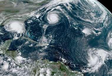 Por Que Es Insolito Que Se Formen 5 Ciclones Tropicales Al Mismo Tiempo Teletica