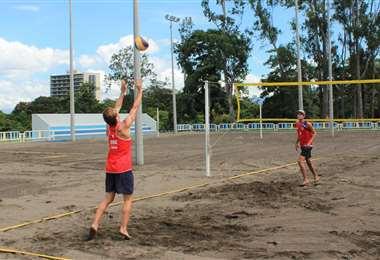 Entrenamiento Voleibol Playa