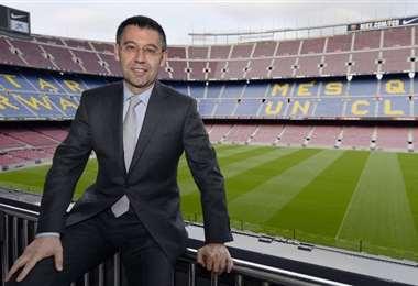 Josep Bartomeu. AFP