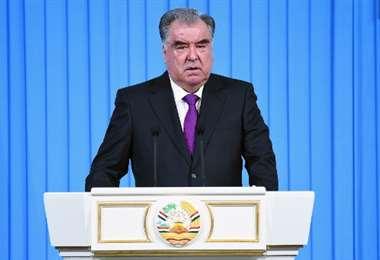 Presidente de Tayikistán - AFP