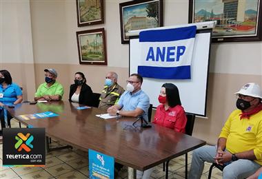 Foto prensa ANEP