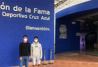 Andrey Soto y Fabián Pérez. ADSC