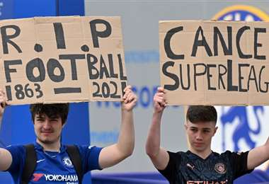 Superliga. AFP