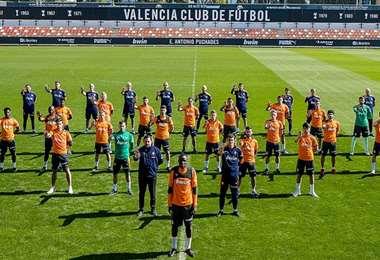 Valencia. AFP