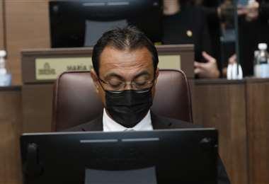 Óscar Cascante, diputado del PUSC. Cortesía prensa Asamblea Legislativa