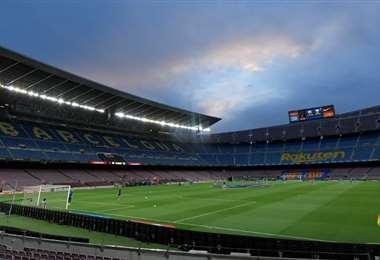 Camp Nou. AFP