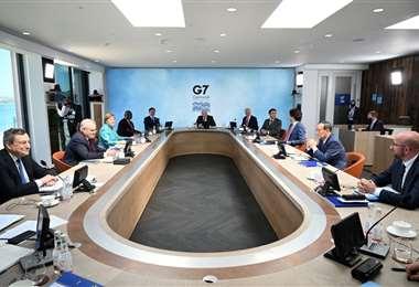 Cumbre del G7 en Inglaterra