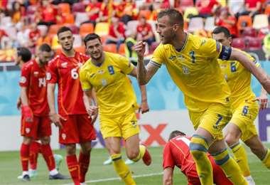 Andriy Yarmolenko. AFP