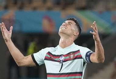 Cristiano Ronaldo. AFP